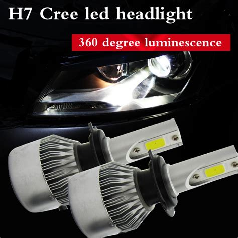 2016 general 2 55w 9200lm led headls kit h7 distant