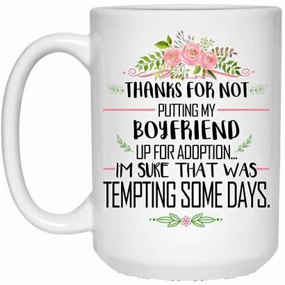 Boyfriend Thanks Putting Adoption Mugs Choose Robinplacefabrics