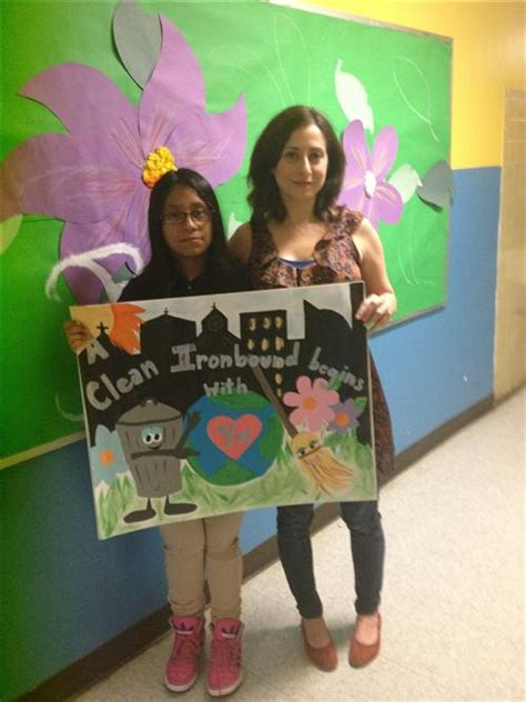 anti litter poster contest oliver street school