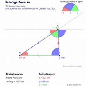Innenwinkel Dreieck Berechnen : lektion geo03 dreieck grundlagen matheretter ~ Themetempest.com Abrechnung
