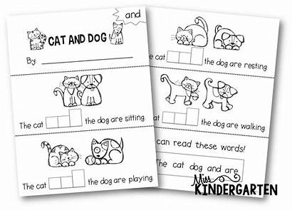 Sight Word Kindergarten Words Books Booklets Printable