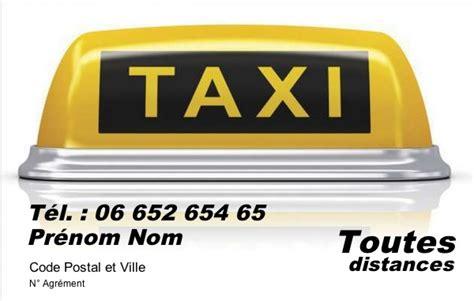 modele carte de visite taxi carte de visite taxi mod 232 le gratuit 224 imprimer simple