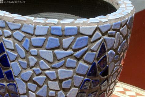 blumentopf aus soft bits keramik steine geschenk zum