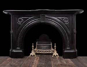Black, Marble, Fireplace, -, 19331