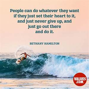 """People can do whatever they want if they just set their ..."