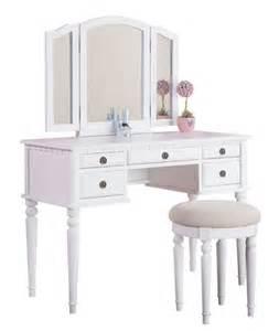 vanity set for girls table stool chair 3 mirror kids