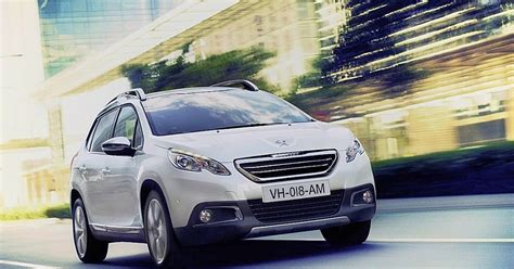 peugeot cars philippines price peugeot philippines brings in 2008 crossover w specs