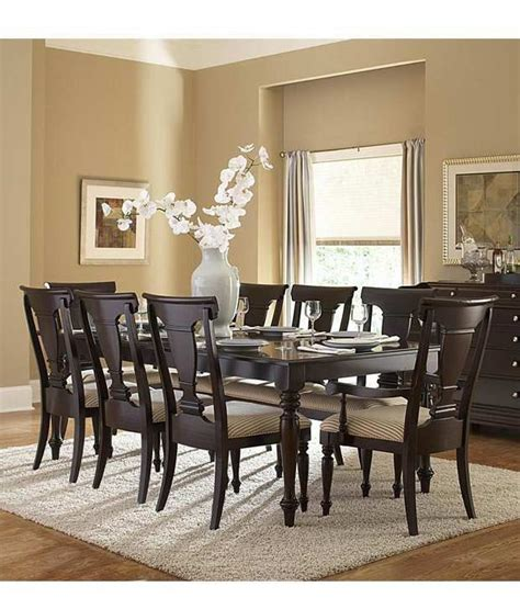 dream furniture black modern teak wood  seater luxury