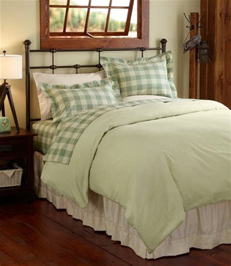 Llbean Bed by Ultrasoft Flannel Comforter Cover Bedding Free Shipping