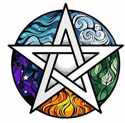 Pentagram Elemental Spiritual Empowerment