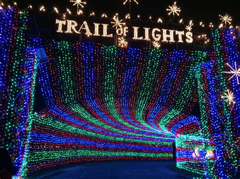 christmas light trail light displays around the us news from the trail