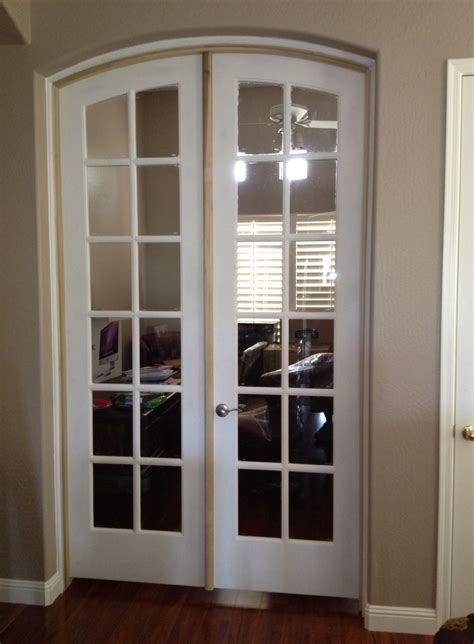Amazing Arched Interior French Doors #5 Arched Top French
