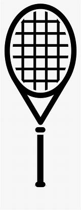 Tennis Coloring Racquet Racket Template Clipart Clipartkey sketch template