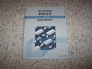 2009 Toyota Rav4 Electrical Wiring Diagram Manual Sport Limited 2 5l 3 5l V6