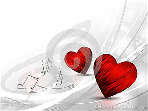 love background hearts stock photo image