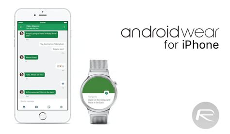 android compatible android wear arrives on iphone ios app released