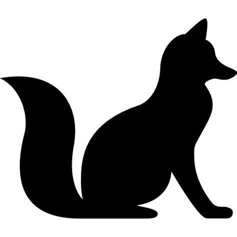 Find & download free graphic resources for svg. Fox Sitting free vector icons designed by Freepik | Animal ...