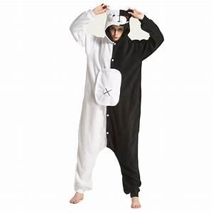 Pyjama Party Outfit : buy fleece onesie pyjama costume danganronpa dangan ronpa monokuma halloween ~ Eleganceandgraceweddings.com Haus und Dekorationen