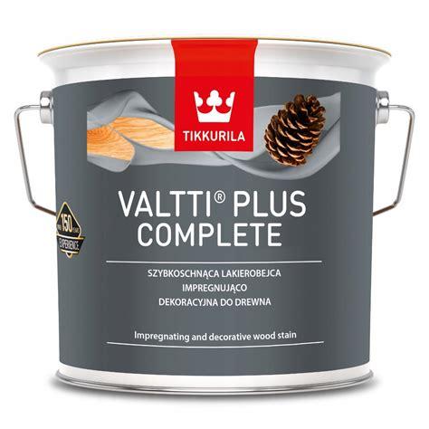 TIKKURILA VALTTI PLUS COMPLETE- lakierobejca 2.7l 7713457085 - Allegro.pl