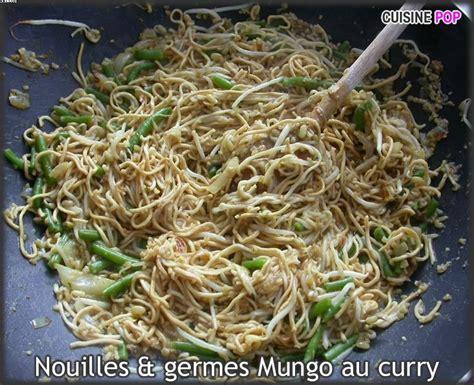 ma cuisine vegetalienne nouilles et germes mungo au curry pâtes et lasagnes