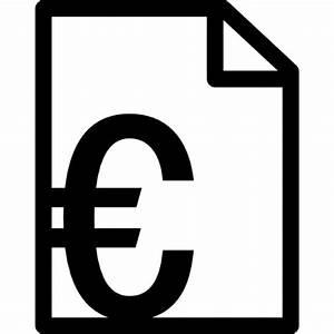 Rechnung Symbol : rechnung in euro download der kostenlosen icons ~ Themetempest.com Abrechnung