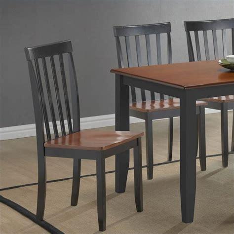 boraam bloomington dining chair in black cherry set of 2