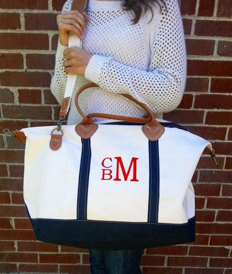 monogram canvas satchel duffle weekender bag