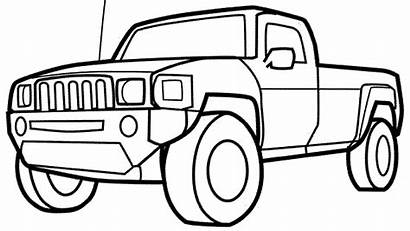 Coloring Trucks Cars Pages Bestappsforkids