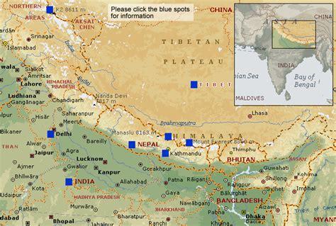 map of himalayan ranges himalayas on a map cars entertainment