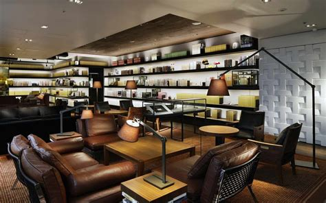 dining room set with bench flexform at daikanyama tsutaya books archi living com