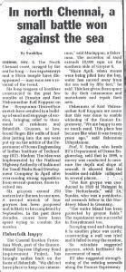 newspaper cuttings dr  sundar