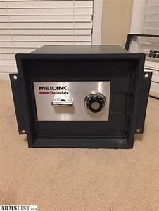 armslist for sale meilink wall safe fire resistant With document safes for sale