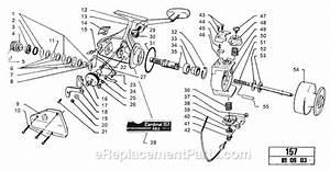 Ricambi E Accessori Bail Arm 11325 Cardinal 157 Abu Garcia