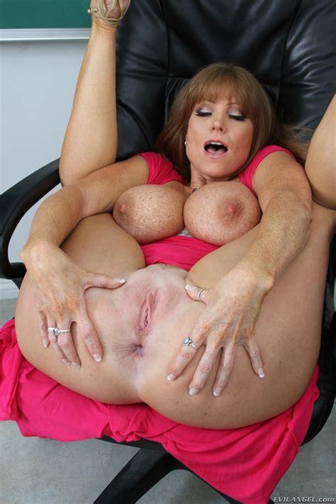Woman In Pink Dress Is Very Horny MILF Fox