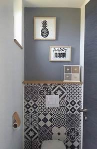 Comment Transformer Ses Wc En Espace Déco : id e d co toilettes la tendance est aux carreaux de ciment ~ Melissatoandfro.com Idées de Décoration