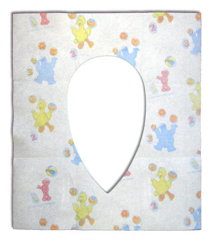Elmo Potty Seat Cover by Sesame Potty Topper Disposable Stick In Place