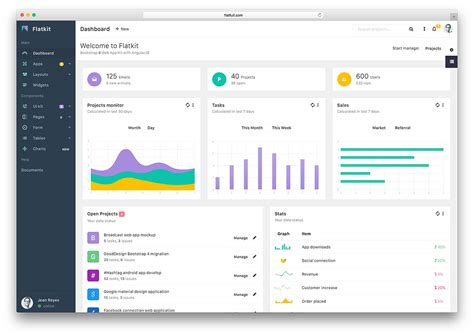 20 Free Bootstrap 3 Admin Dashboard Templates 2016 Colorlib
