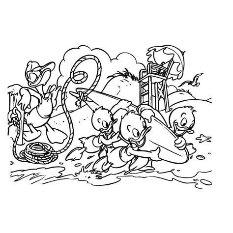 Kleurplaat Donald Duck Met Taart by Kwik Kwek En Kwak Kleurplaten Kleurplatenpagina Nl