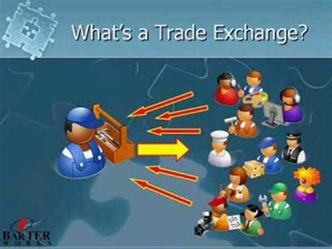 business   barter trade exchange group youtube