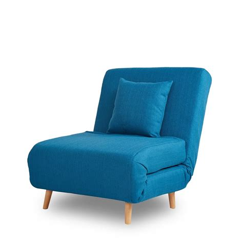 canapé convertible turquoise fauteuil convertible lit 1 place adron chauffeuse