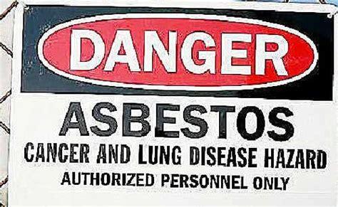 played  asbestos piles     sandpits