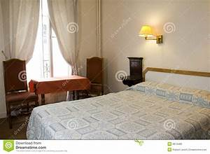 Two Star Hotel Room Paris France Stock Photo - Image of ...