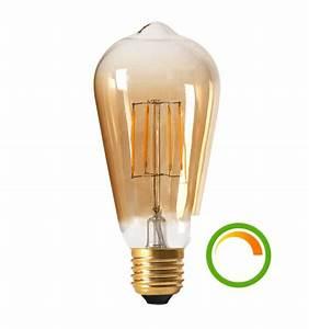 Variateur Pour Led : ampoule led e27 dimmable basse consommation compatible ~ Farleysfitness.com Idées de Décoration