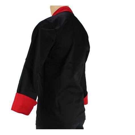 veste de cuisine noir vêtement de cuisine noir et pour homme lisavet