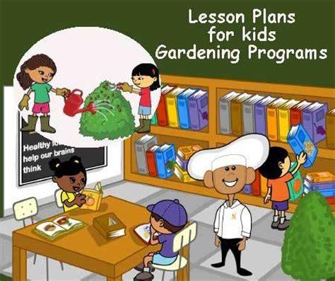 Lesson Plans for Kids Gardening Programs In School or