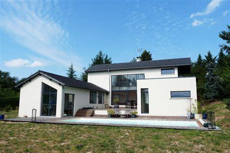 maison plain pied 5 chambres maison en u bansac architectes