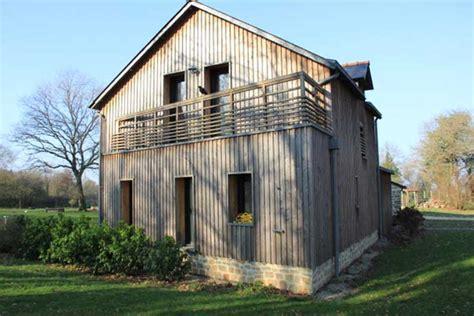 bardage bois chambre extension en bardage bois au nord de nantes françois