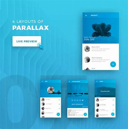 Material Ionic Ui App Theme Template Mobile