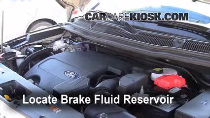 ford explorer brake fluid level check