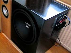 My Home Theater System  New Subwoofer Avr Ect